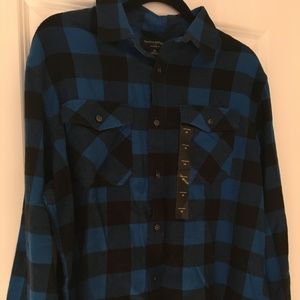 Banana Republic Standard Fit Blue Medium Shirt
